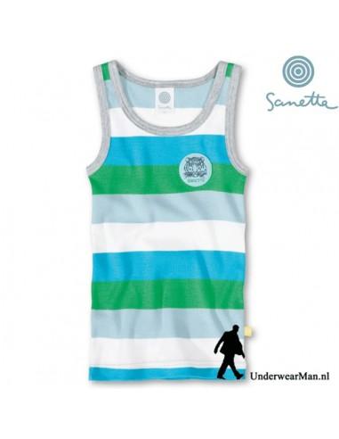 Sanetta Jongens Hemd Tiger Stripe