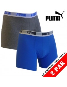 Puma Boxershort Blue Grey 2Pack