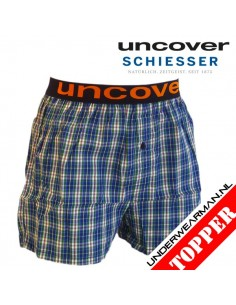 Uncover Woven Boxershort Mix Blocks Schiesser