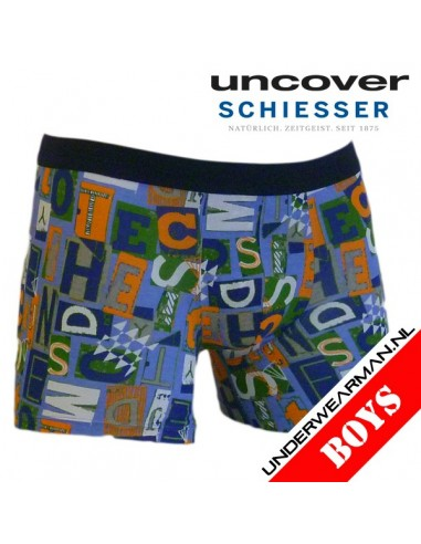 Uncover Letters Boxershort Schiesser Kinderondergoed