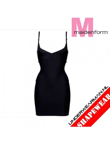 Maidenform Flexees Firm Control Dress Black