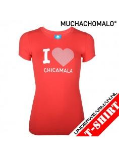 ChicaMala Tough T-Shirt Meisjes Ondergoed