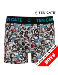 Ten Cate Boys Boxershort Phone White