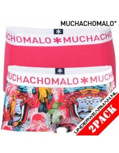MuchachoMalo Rica Short 2pack Dames Ondergoed Print