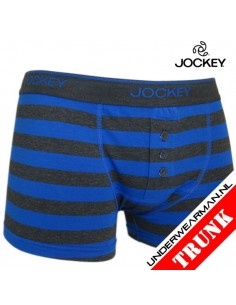 Jockey Stripe Blue Grey Boxershort