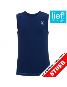 Lief! Shirt Blue Kinderondergoed