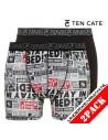 Ten Cate ondergoed Newspaper Print 2-pack herenondergoed