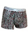 Calvin Klein red black dots trunk