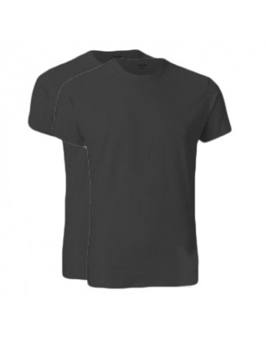 Calvin Klein T-shirt zwart duo pak ronde hals