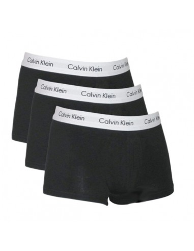 Calvin Klein Ondergoed Black 3 pak low rise trunk