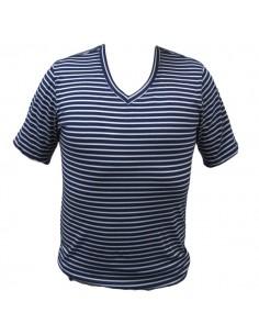 Steven Lifestyle Shirt Azul Camiseta