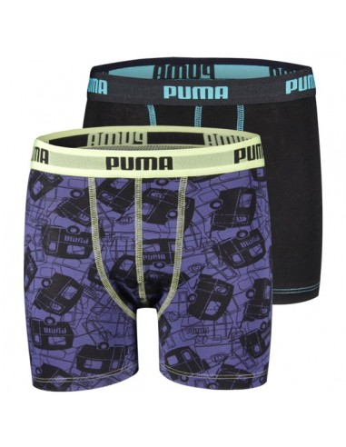 Puma Boxershort Let's Go Camping New Navy 2Pack