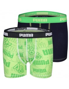 Puma Boxershort Fortyeight Classic Green 2Pack