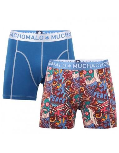 MuchachoMalo Psyche Print 2Pack Kinder Ondergoed