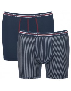 Sloggi Men Match Short C2P Blue 2Pack