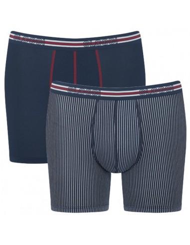 Sloggi Men Match Short C2P Blue 2Pack