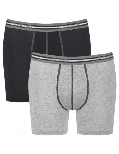 Sloggi Men Match Short C2P Grey 2Pack