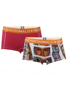 MuchachoMalo Point Short 2Pack Dames Ondergoed