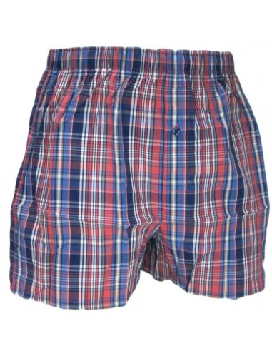 Uncover Woven Boxershort Mix Red Schiesser