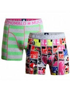 MuchachoMalo Prop Print 2Pack Kinder Ondergoed