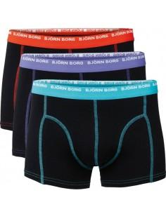 Björn Borg Short Shorts 3Pack 3 To Go Black Boxershorts