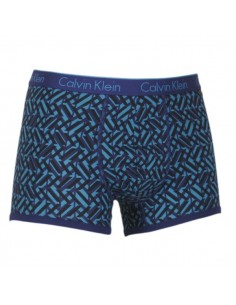 Calvin Klein Ondergoed Trunk Purple blue bits