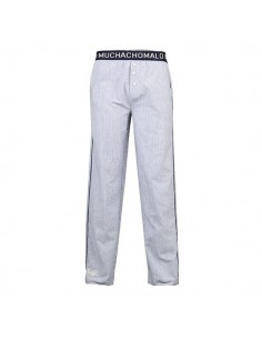 MuchachoMalo Cotton blauw Lounge Pyjamabroek Heren Ondermode