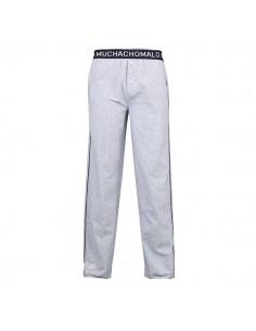 MuchachoMalo Cotton blauw Lounge Pyjamabroek Heren Ondermode