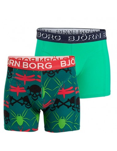 Bjorn Borg Skull Chain Everglade 2Pack Shorts Kinderondergoed