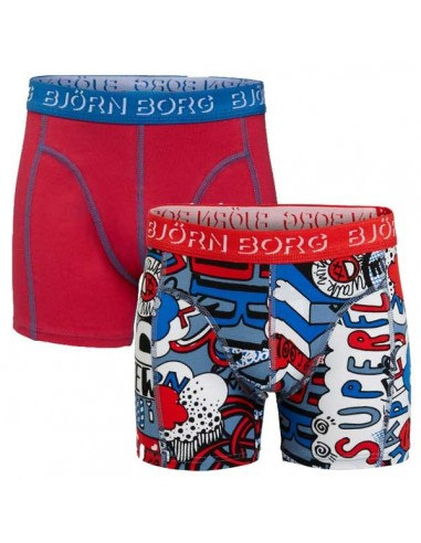 Bjorn Borg Superfly 2Pack Shorts Kinderondergoed