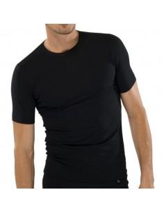 Schiesser T-Shirt Zwart
