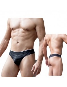 Doreanse black stripe string men 1386