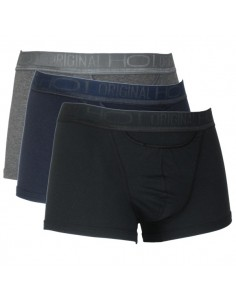 HOM HO1 3Pack Maxi Zwart grijs blauw 2 + 1 gratis