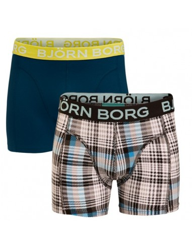 Bjorn Borg 2 Pack Lab Check black