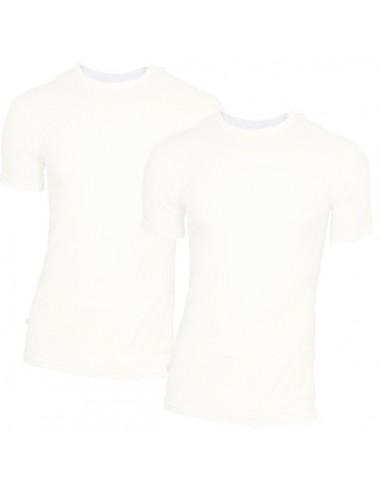 Claesens t-shirt 2 pack short sleeve white