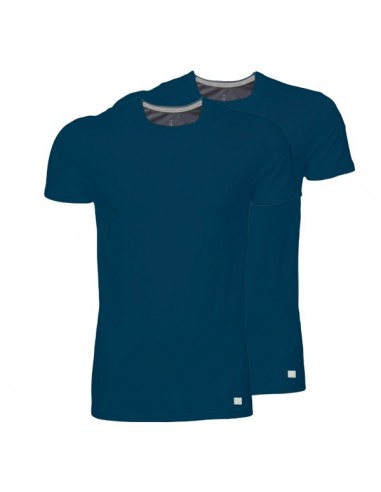 Calvin Klein T-shirt duo pak Navy ronde-hals