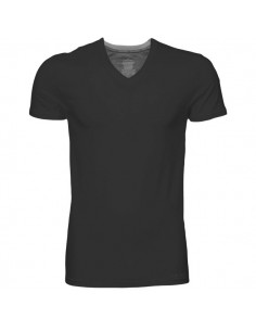 Calvin Klein T-shirt v-hals black