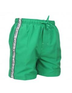 Calvin Klein Zwembroek Deep Green Medium Drawstring