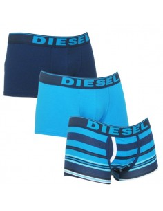 Diesel Divine UMBX 3Pack Boxershort Fresh and Bright Blue colors