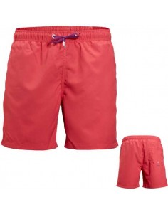 Björn Borg Swimwear Loose Shorts Basic Woven Rouge Red