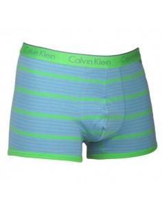 Calvin Klein Ondergoed stripe green trunk