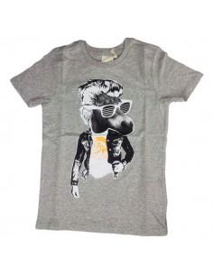Diesel Kinderondergoed T-Shirt Grijs Talpy