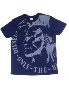 Diesel Kinderondergoed T-Shirt Blauw Tidey