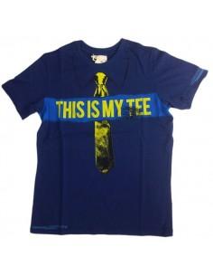 Diesel Kinderondergoed T-Shirt Blauw Tutary
