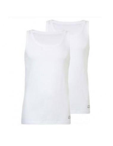 Ten Cate ondergoed Singlet 2-pack wit mannen