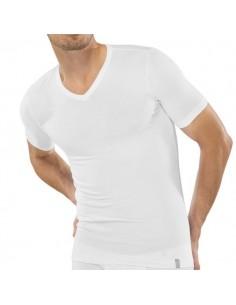 Schiesser V-Shirt wit 95/5