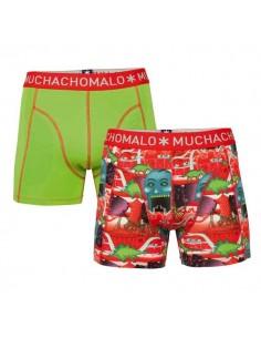 MuchachoMalo Theme Duopak Heren Boxershorts