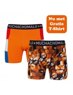 MuchachoMalo WK Special Holland 2Pack Heren Boxershorts
