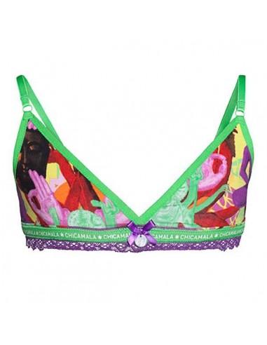 MuchachoMalo Ladies Triangle Top Religion Dames Ondergoed