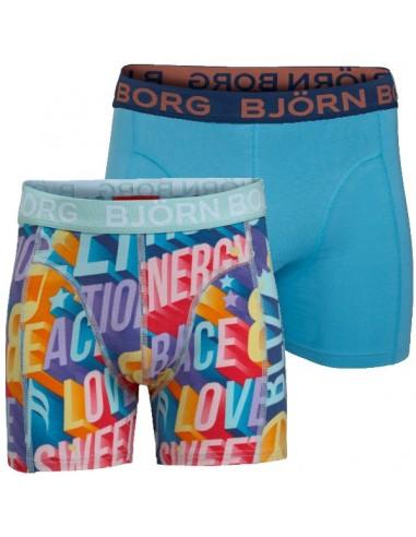 Bjorn Borg 2 Pack Good Vibe Kinder Boxershorts